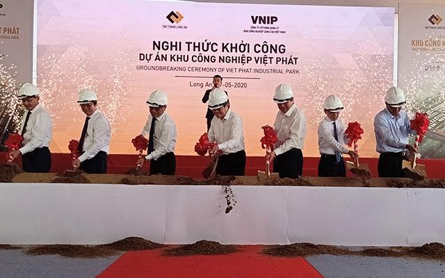 Khởi công dự án Khu công nghiệp Việt Phát