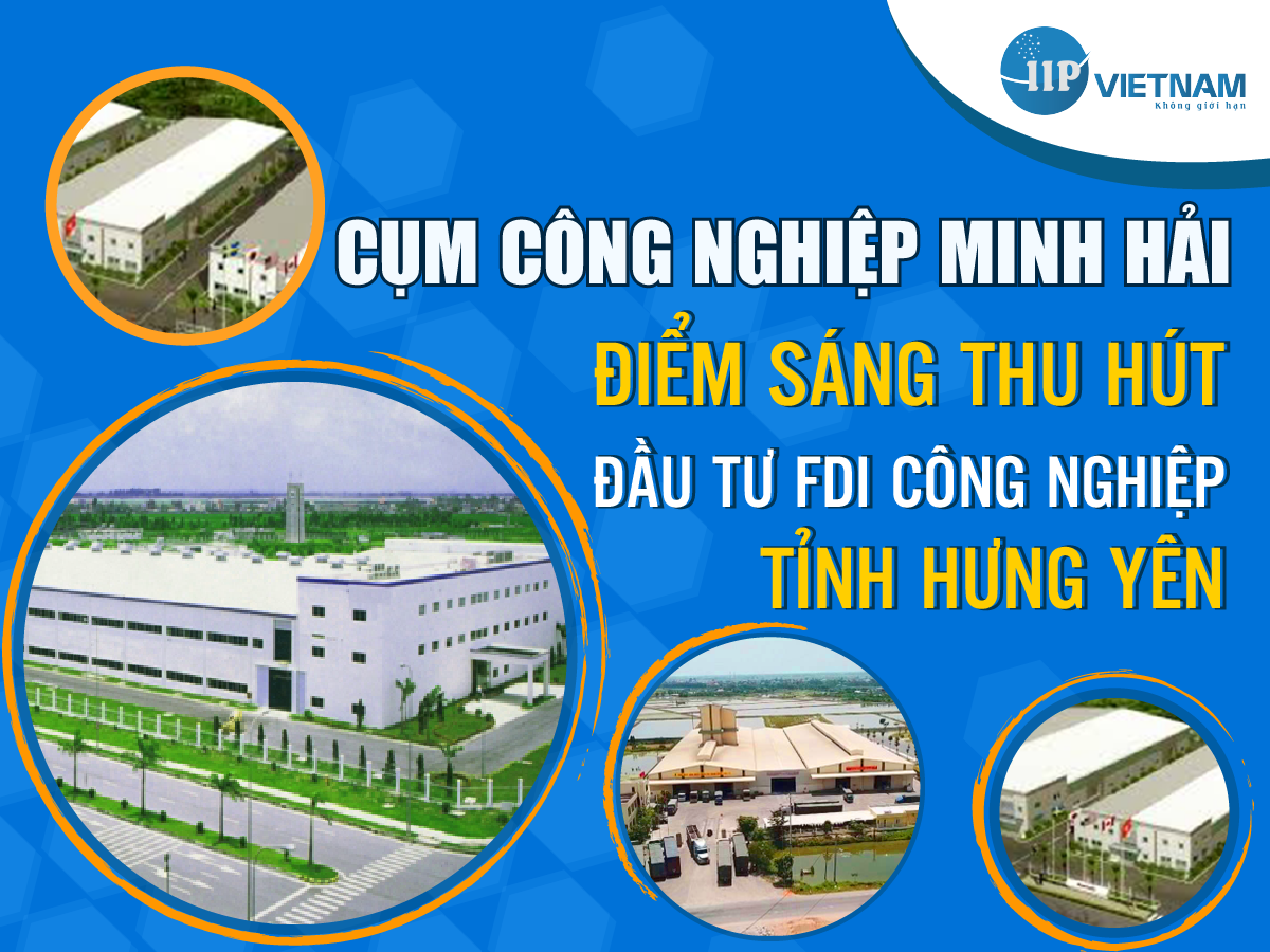 Cụm công nghiệp Minh Hải địa điểm đầu tư tiềm năng mới ở Hưng Yên